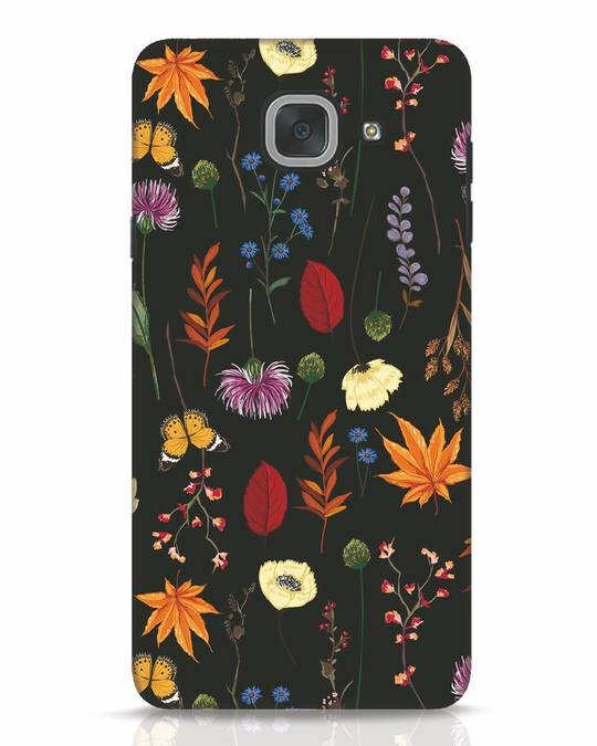 Shop Flowers Samsung Galaxy J7 Max Mobile Cover-Front