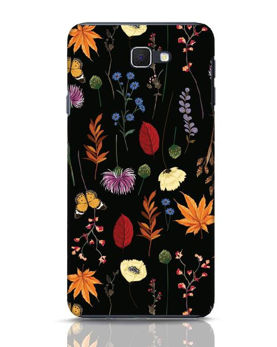 Shop Flowers Samsung Galaxy J7 Prime Mobile Cover-Front
