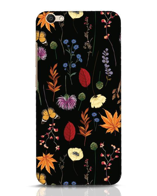 Shop Flowers Vivo V5 Mobile Cover-Front