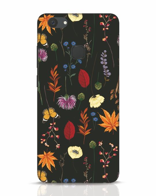 Shop Flowers Vivo V7 Plus Mobile Cover-Front