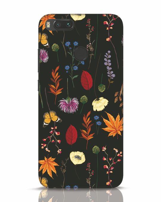 Shop Flowers Xiaomi Mi A1 Mobile Cover-Front