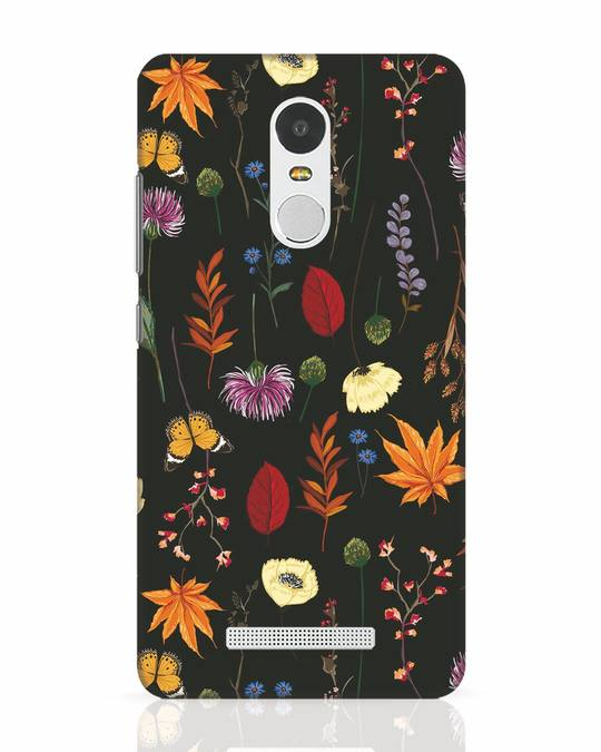 Shop Flowers Xiaomi Redmi Note 3 Mobile Cover-Front
