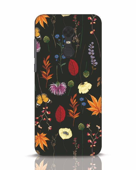 Shop Flowers Xiaomi Redmi Note 5 Mobile Cover-Front