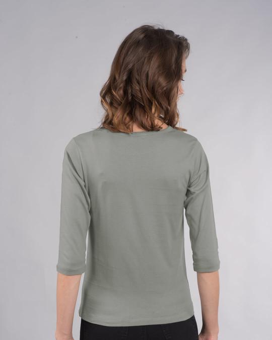 Shop Fly Away Balloon Round Neck 3/4th Sleeve T-Shirt-Design