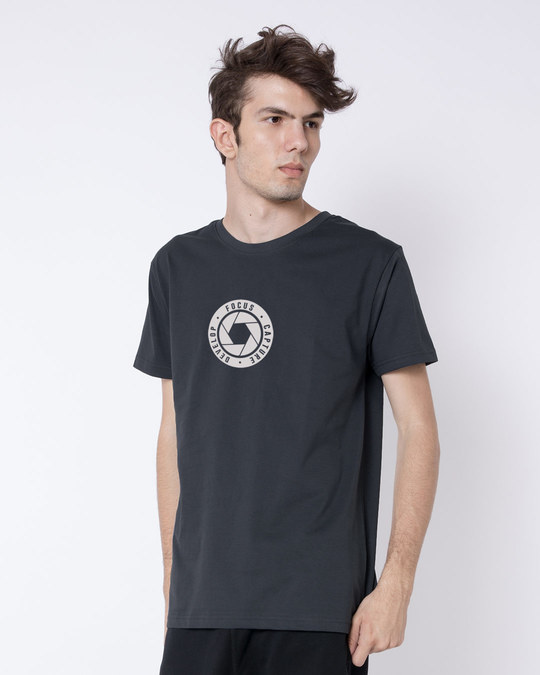 Shop Focus Capture Develop Half Sleeve T-Shirt-Full