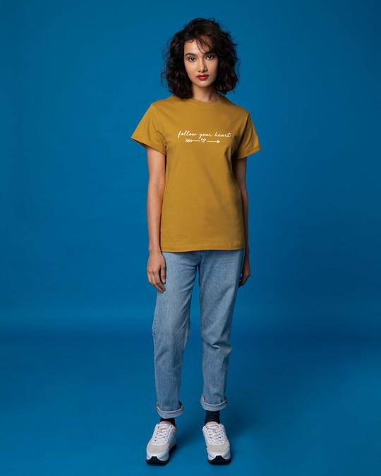 Shop Follow Heart Boyfriend T-Shirt