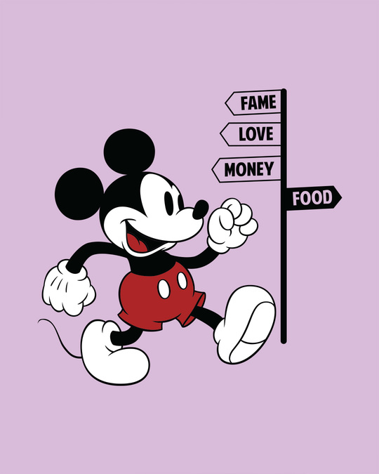 Shop Foodie Mickey Boyfriend T-Shirt (DL)