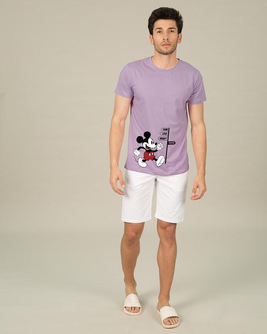 Shop Foodie Mickey Half Sleeve T-Shirt (DL)