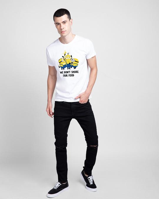 Shop Foodie Minion Half Sleeve T-Shirt-Design