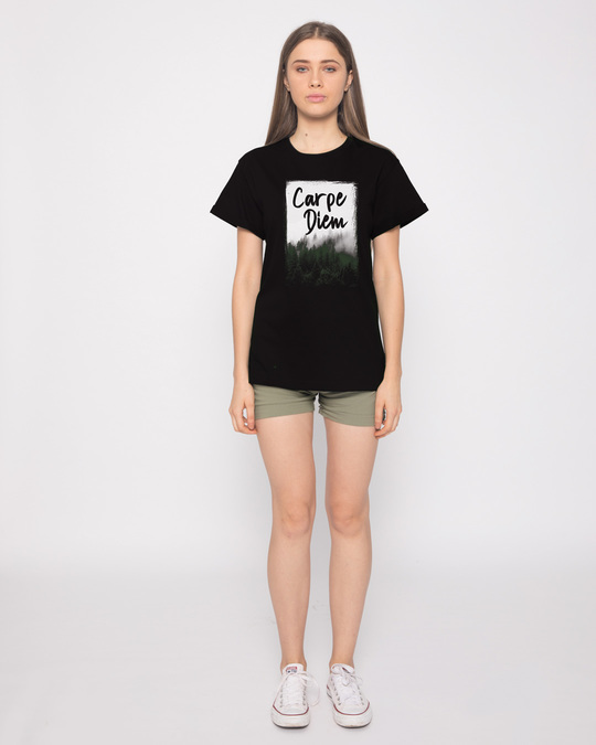 Shop Forest Carpe Diem Boyfriend T-Shirt