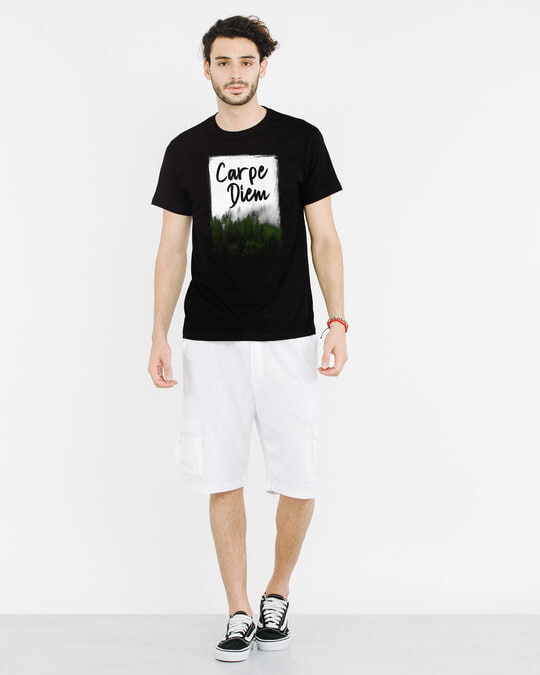 Shop Forest Carpe Diem Half Sleeve T-Shirt