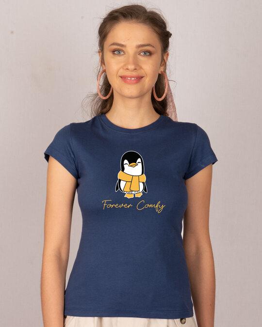 Shop Forever Comfy Half Sleeve T-Shirt-Front