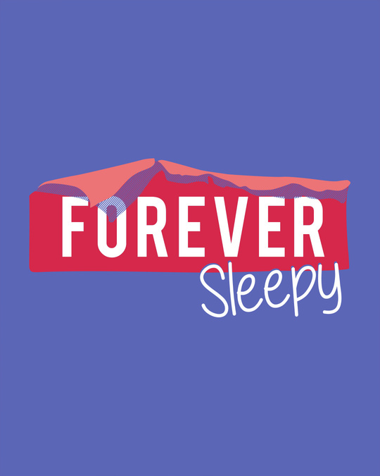 Shop Forever Sleepy Boyfriend T-Shirt-Full