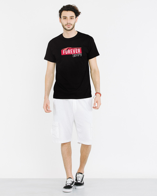 Shop Forever Sleepy Half Sleeve T-Shirt-Full