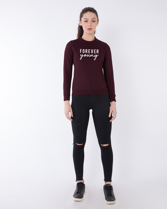 Shop Forever Young Fleece Sweater-Design