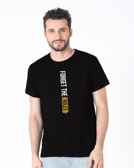 Shop Forget The Rules Half Sleeve T-Shirt-Back