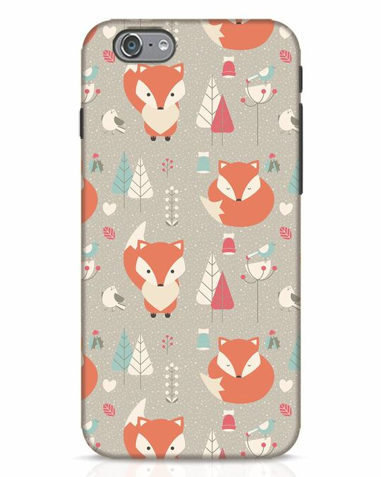 Shop Foxy iPhone 6 Mobile Cover-Front