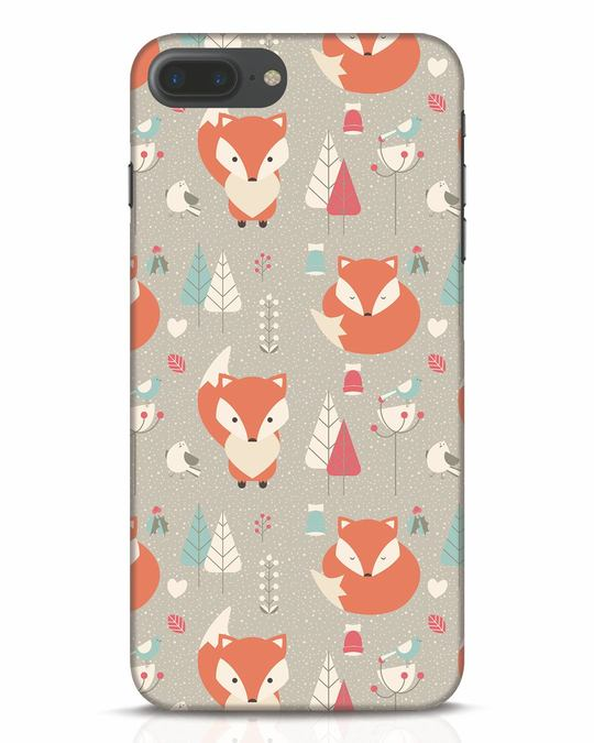Shop Foxy iPhone 7 Plus Mobile Cover-Front