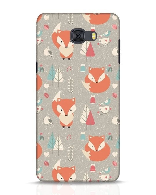 Shop Foxy Samsung Galaxy C9 Pro Mobile Cover-Front