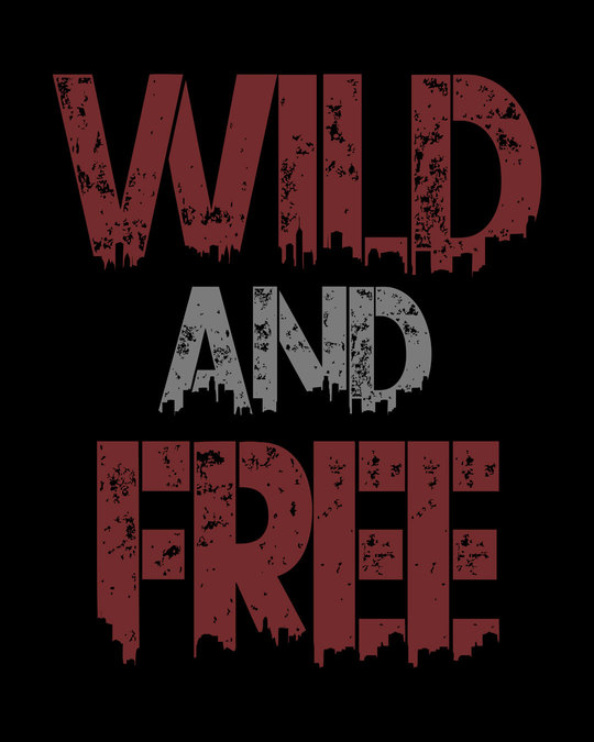Shop Free And Wild Boyfriend T-Shirt