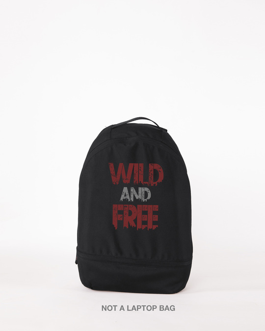 Shop Free And Wild mini Backpack-Front