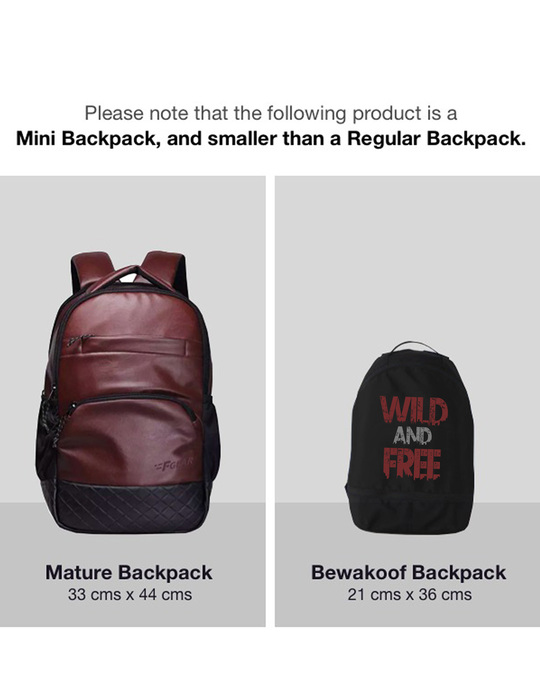 Shop Free And Wild mini Backpack