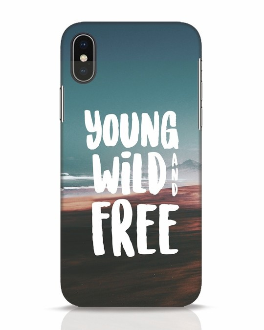 Shop Free iPhone X Mobile Cover-Front