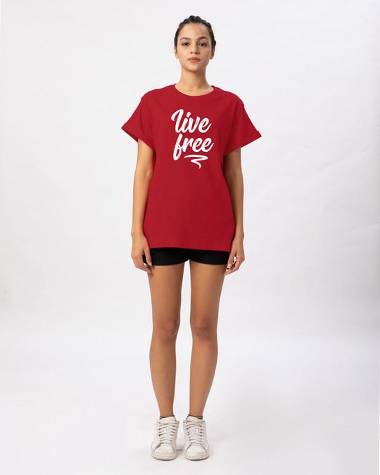 Shop Free Living Boyfriend T-Shirt-Full