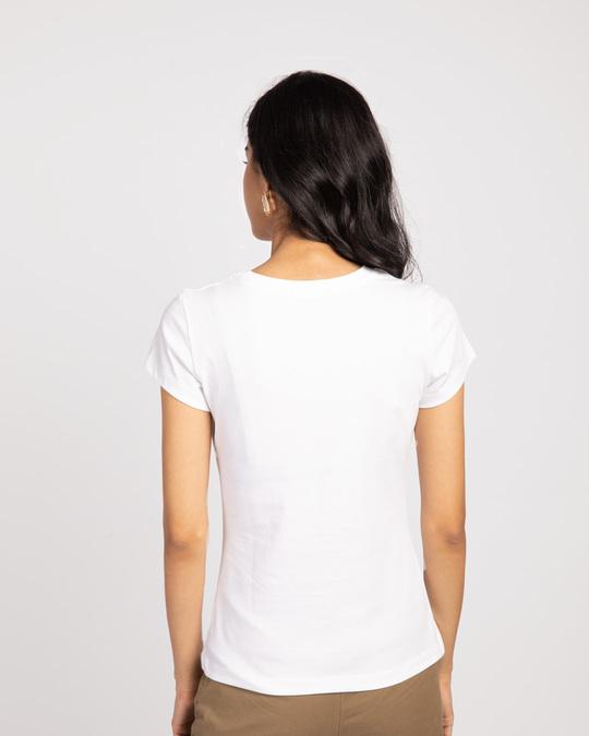 Shop Frenemies Sylvester Tweety Half Sleeve T-shirt (LTL)-Back