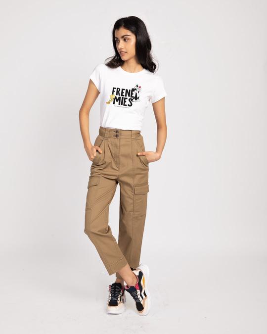Shop Frenemies Sylvester Tweety Half Sleeve T-shirt (LTL)-Design