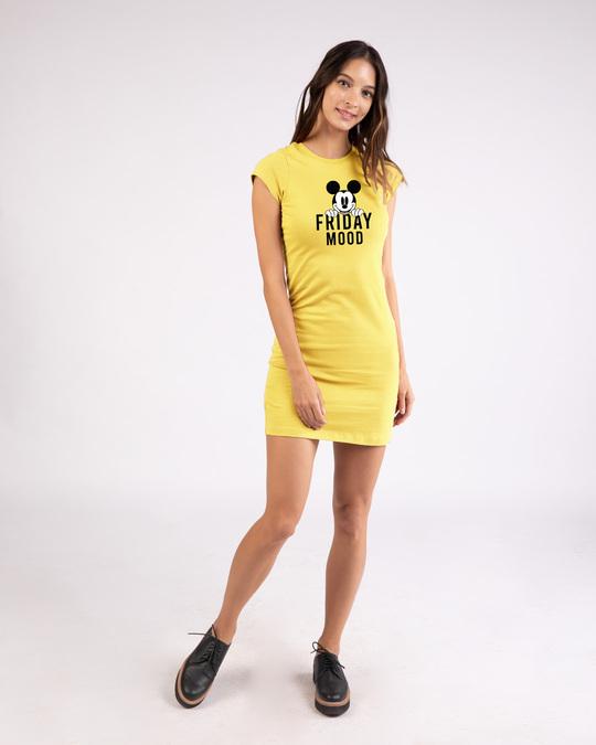 Shop Friday Mickey Cap Sleeve Printed T-Shirt Dress (DL)-Design