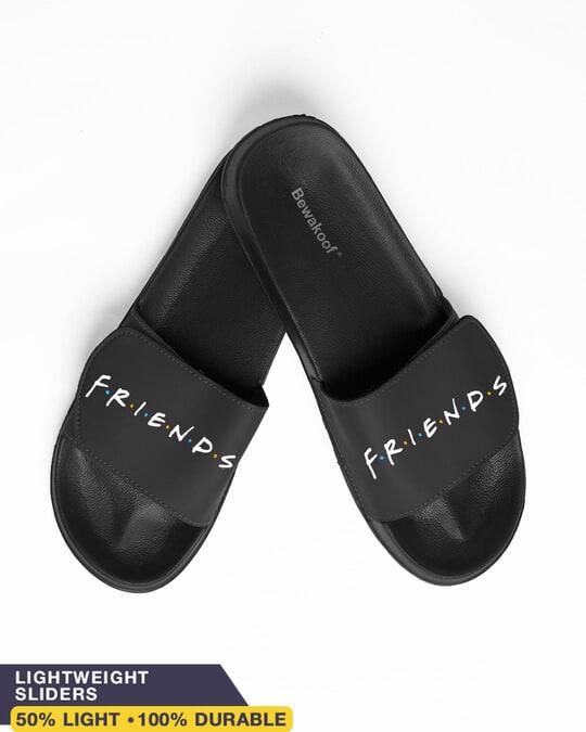Shop Friend's Lightweight Adjustable Strap Men Slider (FRL)-Front
