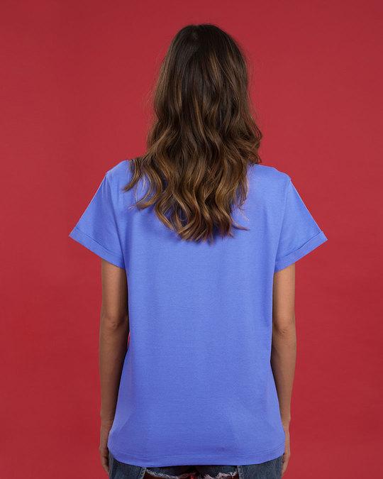 Shop Friends Doodle Boyfriend T-Shirt (FRL)-Back