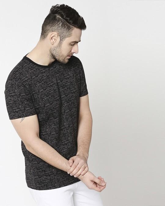 Shop Friends doodle (FRL) AOP T-Shirt-Front
