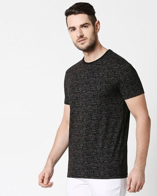 Shop Friends doodle (FRL) AOP T-Shirt-Back