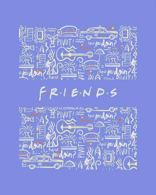 Shop Friends Doodle Vest (FRL)-Full