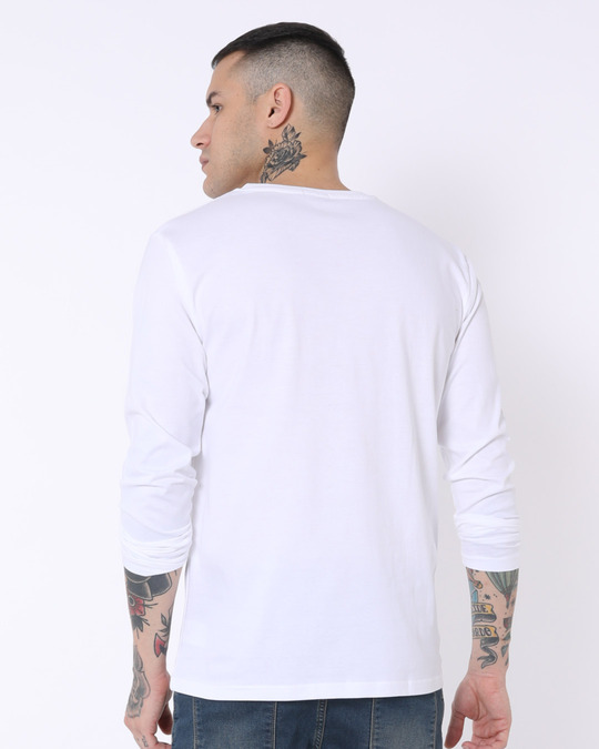 Shop Friends For You Full Sleeve T-Shirt (FRL)-Back