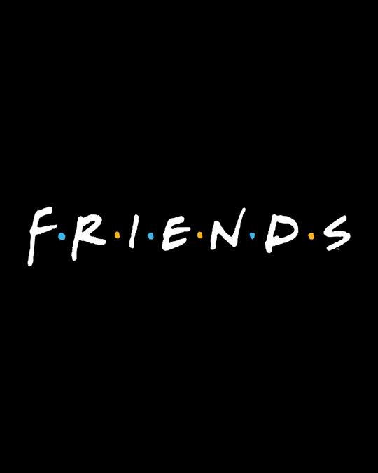 Shop Friends Logo Boyfriend T-Shirt (FRL)