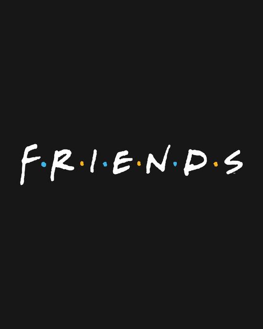 Shop Friends logo Crewneck Varsity Rib H/S T-Shirt (FRL)
