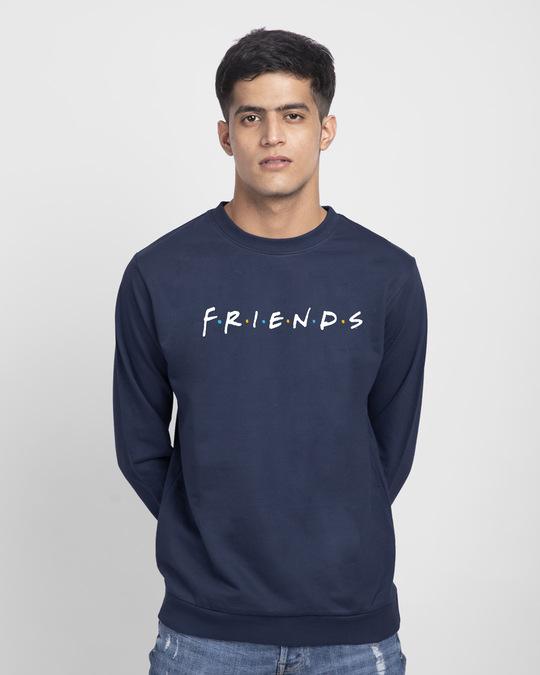 Shop Friends Logo Fleece Light Sweatshirt (FRL)-Front
