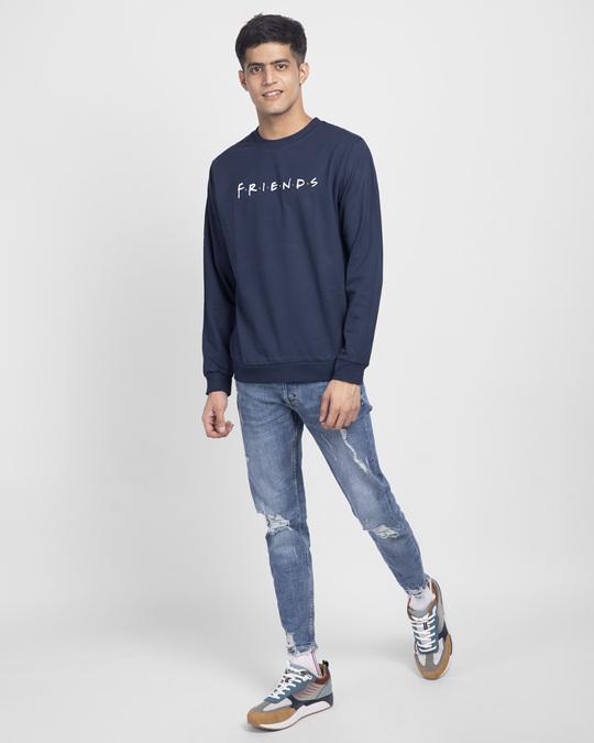 Shop Friends Logo Fleece Light Sweatshirt (FRL)-Design