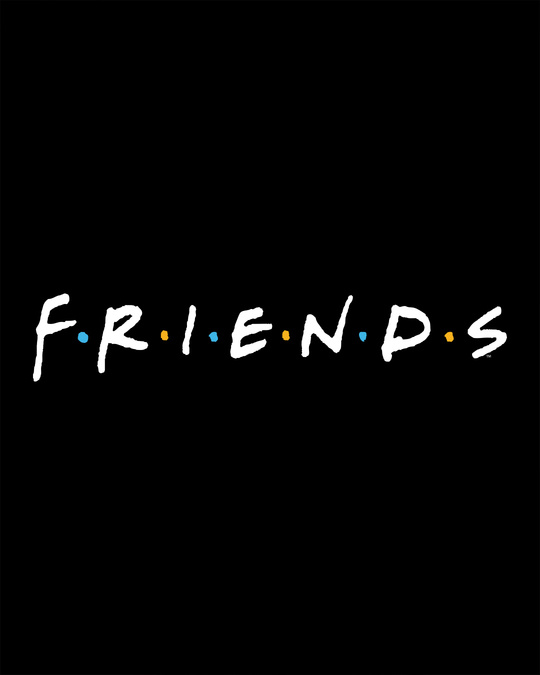 Shop Friends Logo Full Sleeve T-Shirt (FRL)