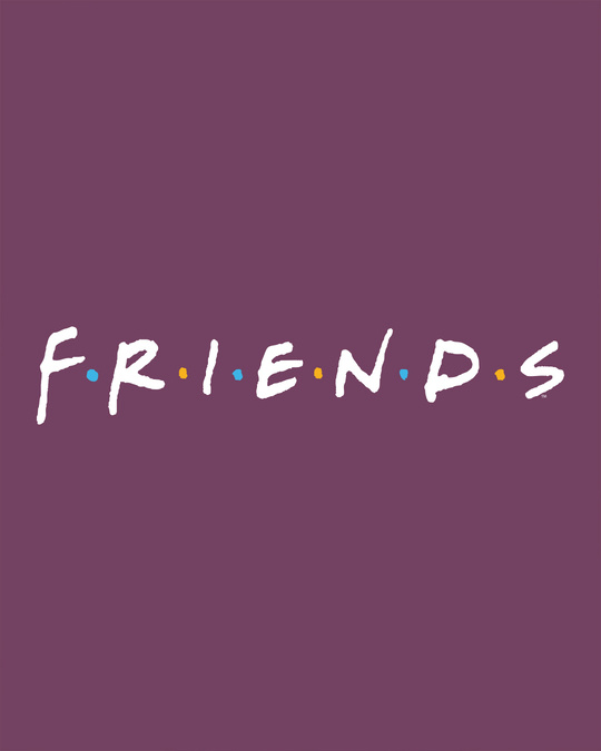 Shop Friends Logo Full Sleeve T-Shirt (FRL)-Full