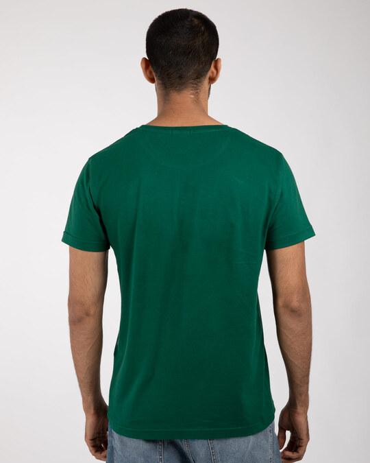 Shop Friends Logo Half Sleeve T-Shirt-Back