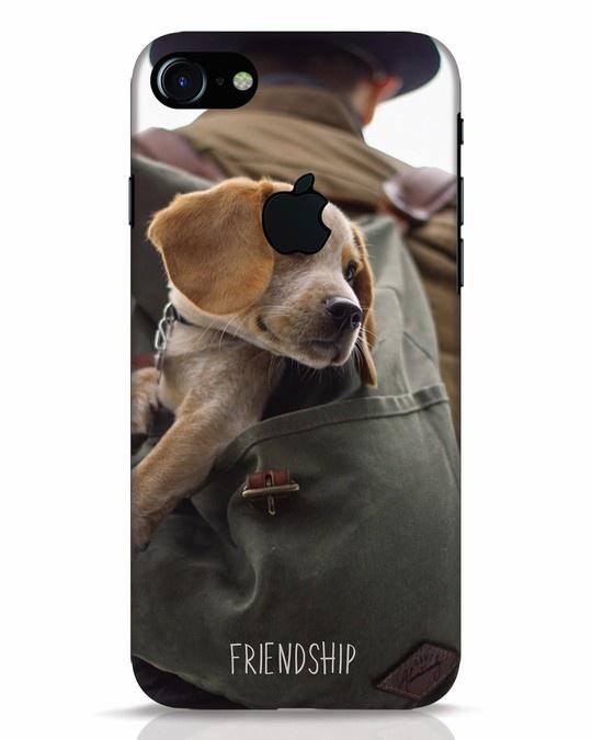 Shop Friendship iPhone 7 Logo Cut Mobile Cover-Front