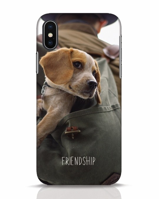 Shop Friendship iPhone X Mobile Cover-Front