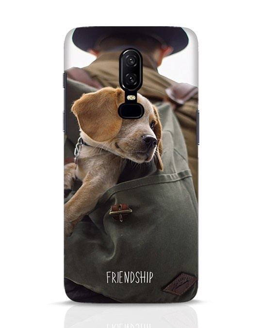 Shop Friendship OnePlus 6 Mobile Cover-Front