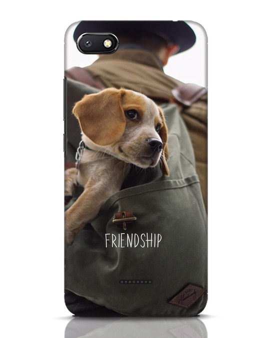 Shop Friendship Xiaomi Redmi 6A Mobile Cover-Front
