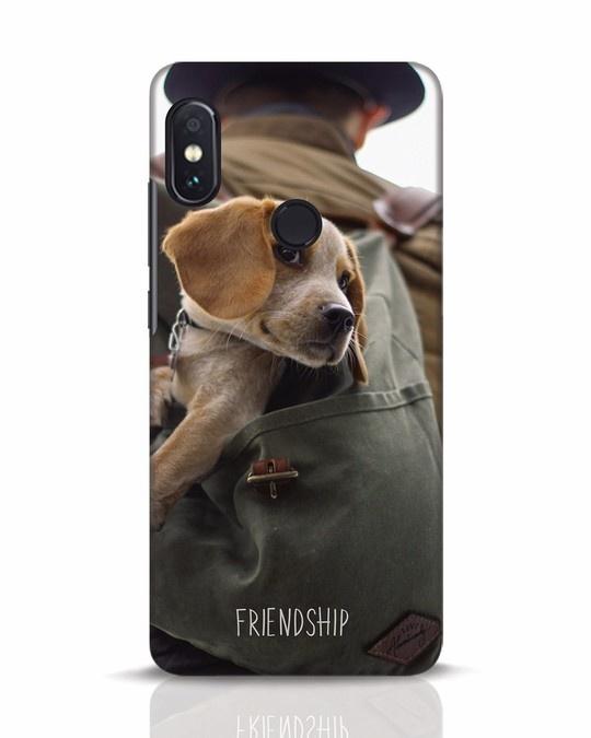 Shop Friendship Xiaomi Redmi Note 5 Pro Mobile Cover-Front