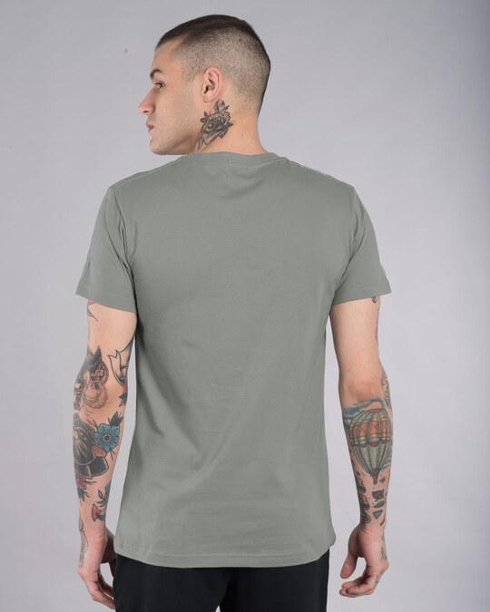 Shop Frontend Backend Half Sleeve T-Shirt-Back
